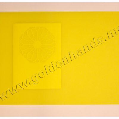 Калька желтая яркая, 100 г/м2