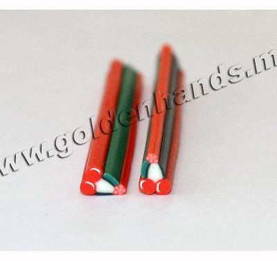 Полимерная палочка ВИШЕНКИ (Арт: 2.9-Фш-011), 1 шт.