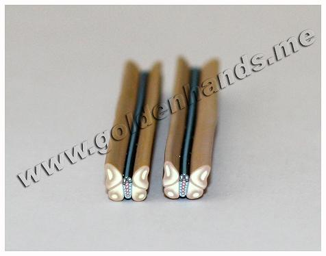 Полимерная палочка БАБОЧКА (Арт: 2.9-Фш-029), 1 шт.