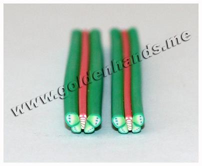 Полимерная палочка БАБОЧКА (Арт: 2.9-Фш-034), 1 шт.