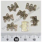 Разделитель на 3 кольца серебро, 1 шт