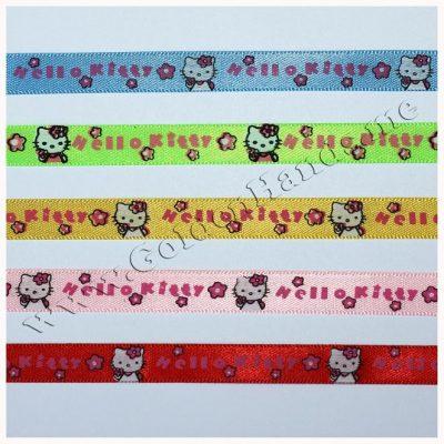 Лента атласная Hello Kitty, 1 см