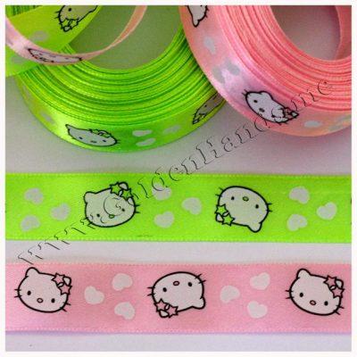 Лента атласная Hello Kitty, 2 см