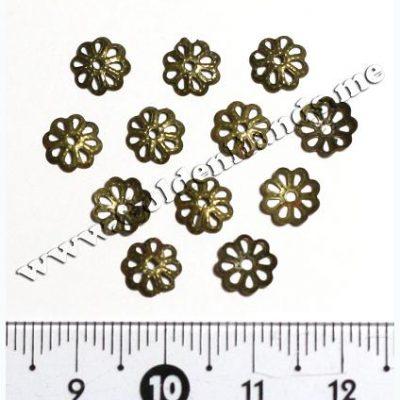 Шапочка для бусин бронза 7 мм (АРТ: 7.1-С-014), 10 шт