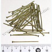 Пин-гвоздик, бронза 3 см (Арт: 7.6-Пин-13), 10 шт
