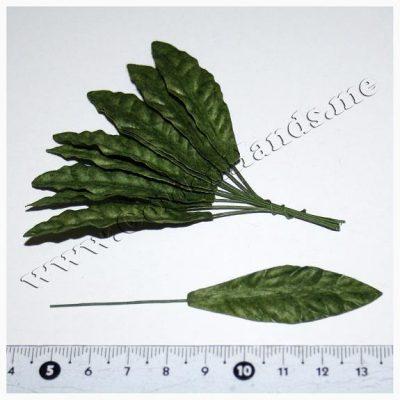 Лист большой зелёный, 1 шт