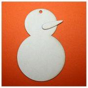 Снеговик 9 см (2 элемента)