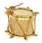 БАРАБАН новогодний 2 см золото
