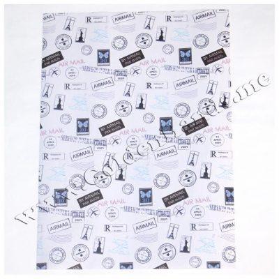 Бумага 18,5х26 см белая «Париж»