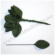 Лист малый тёмно зелёный