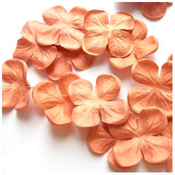ГОРТЕНЗИЯ 2,5 см оранжевая