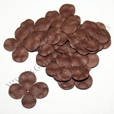 ГОРТЕНЗИЯ 2,5 см коричневая
