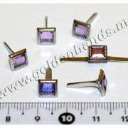 Брадс КВАДРАТНЫЙ кристалл 7 мм, 1 шт