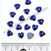 Половинки сердечек 6 мм, 5 шт