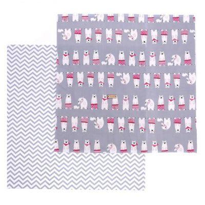 Ткань (2 отреза) 50х50 Умка (серый)