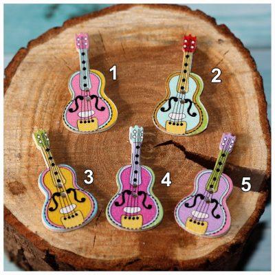 Гитара, дерево