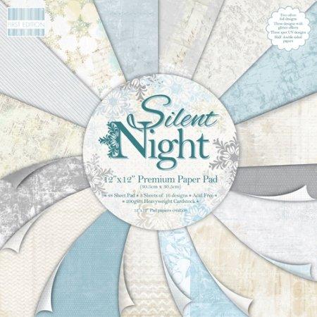 Бумага Trimcraft Тихая ночь (набор 16 листов)
