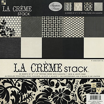 Бумага «LaCreme» 24 листа (DCWV)