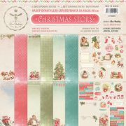 Бумага BeeShabby Christmas Story (набор 8 листов)