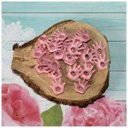 Люверсы РУЧКА детская розовая