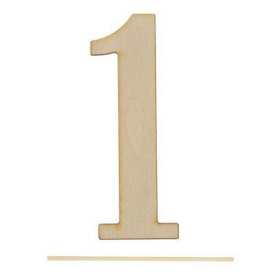 Топпер цифра «1»