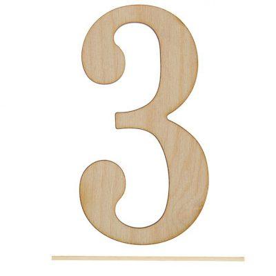 Топпер цифра «3»