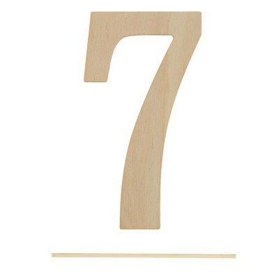 Топпер цифра «7»