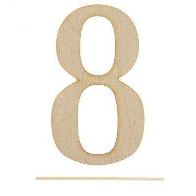 Топпер цифра «8»