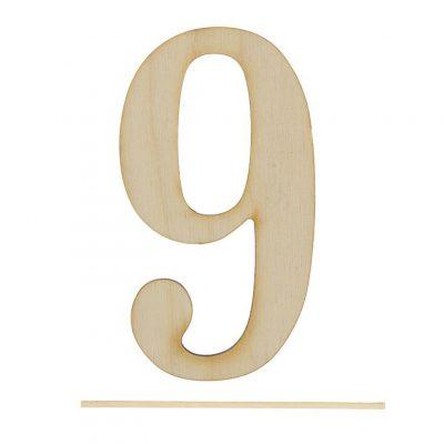 Топпер цифра «9»