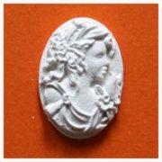 Фигурка лепная Медальон овальный