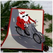 3D POP-UP открытка Дед Мороз