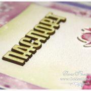 Обложка на паспорт сиреневая ПРИНЦЕССА
