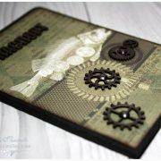 Обложка на паспорт «Механические сны» РЫБА