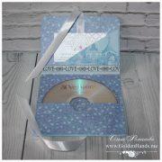 Конвертик для CD с кармашком для визитки