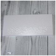 Заготовка для открытки с тиснением 7 х 15 см