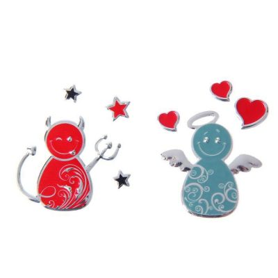 Набор наклеек «Ангел и Чертик», 2 шт