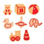 Пуговки резиновые «Любимые игрушки»
