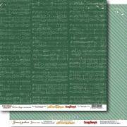 Бумага ScrapBerry's Новогодний дневник (набор 6 листов)