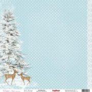 Бумага ScrapBerry's Зимнее утро (набор 13 листов)
