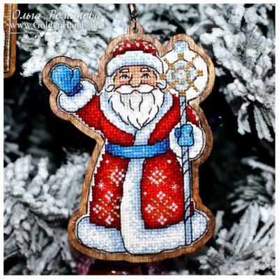 Дедушка Мороз (двухсторонняя)