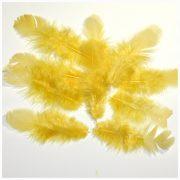 Перо желтое, 3 шт