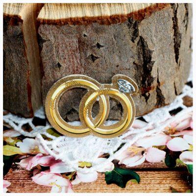 Вырубка «Кольца свадебные»