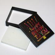 Коробочка подарочная №1 7×9×2,8 см