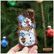 Снеговик (двухсторонний)