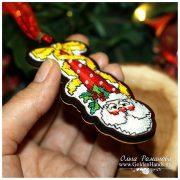 Санта в колпаке