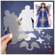Основа под вышивку с перфорацией BB «Christmas Star Angel»