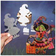 Основа под вышивку с перфорацией BB «Spooktacular Witch»