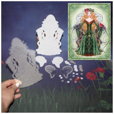 Основа под вышивку с перфорацией BB «Spirit of Evergreen»