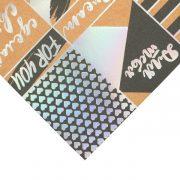 Бумага АртУзор с  голографическим фольгированием «Только для тебя»