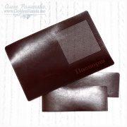 Обложка на паспорт с перфорацией под вышивку (индивидуальная)